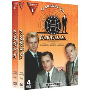 O AGENTE DA UNCLE -  1ª TEMPORADA COMPLETA (2 BOXES)
