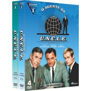 O AGENTE DA UNCLE -  2ª TEMPORADA COMPLETA (2 BOXES)
