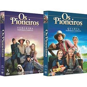OS PIONEIROS - TERCEIRA E QUARTA TEMPORADA (2 BOXES)