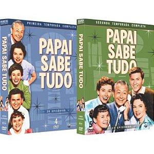 PAPAI SABE TUDO - PRIMEIRA E SEGUNDA TEMPORADA (2 BOXES)