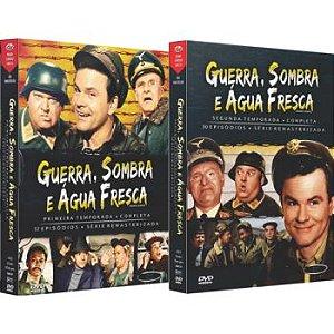 GUERRA, SOMBRA E ÁGUA FRESCA - PRIMEIRA E SEGUNDA TEMPORADA (2 BOXES)