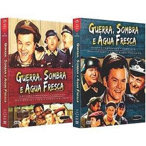 GUERRA, SOMBRA E ÁGUA FRESCA - TERCEIRA E QUARTA TEMPORADA (2 BOXES)