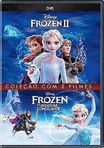 FROZEN COLEÇÃO COM 2 FILMES DVD