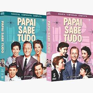 PAPAI SABE TUDO - TERCEIRA E QUARTA TEMPORADA (2 BOXES)