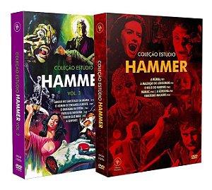 COMBO COLEÇÃO ESTÚDIO HAMMER VOL.1 e VOL.3