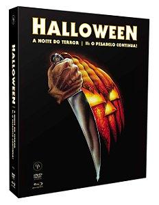 HALLOWEEN: A NOITE DO TERROR - HALLOWEEN 2: O PESADELO CONTINUA [DIGIPAK COM 2 BLU-RAYS E 1 DVD] - ENTREGA PREVISTA PARA A PARTIR DE 22/12/2020