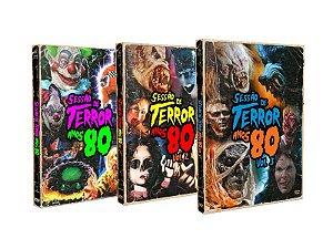 COMBO SESSÃO DE TERROR ANOS 80 VOL. 1-3