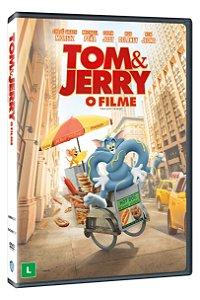 TOM & JERRY: O FILME DVD - ENTREGA PREVISTA A PARTIR DE 02/06/2021