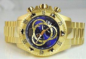 1e6c4fbea4e Relógio Bvlgari Esqueleto Suiço Banhado A Ouro - Right Style