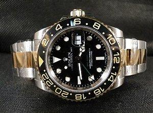 7cef38be155 relogio rolex top de linha funcional luxo na caixa