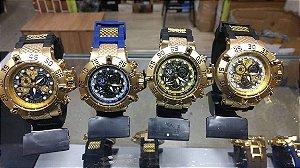 b3affc0a6db Relógio invicta subaqua noma 3 esqueleto top de linha