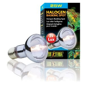 Lâmpada para Répteis Sun Glo Infrared Halogena ExoTerra 25W