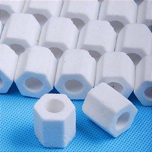 Cerâmica Para Filtro Biologico Aquarios Quartzite Glass 1 Kg