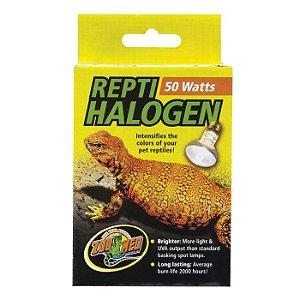 Lâmpada De Aquecimento Halogena Zoo Med 50W
