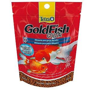 Ração Para Peixe Tetra Gold Fish Color Kinguios E Dourados 40g