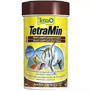 Ração Tetra TetraMin Flakes Para Peixes Tropicais 20g