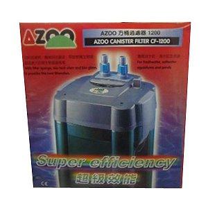 Filtro Para Aquário Canister Azoo Cf-1200 Vazão 1200 L/h 220v