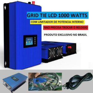 Inversor Gridtie 1000w Limitador Porta Wifi