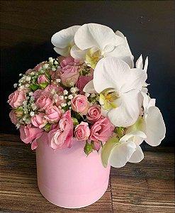 Box flowers Orquidea