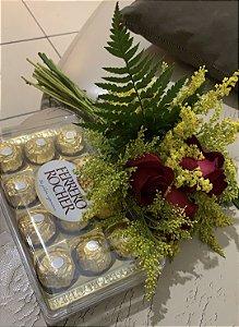 Rosas e Chocolate