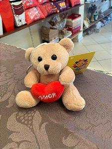 Chaveiro de Urso c/ coração (tamanho M)