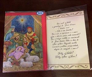 Cartão M natal