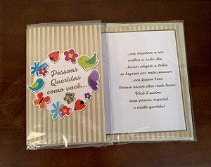 Cartão M pessoas queridas