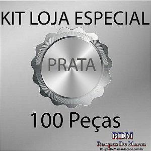 Kit Loja Especial Prata 100 peças