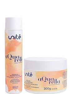 Unité kit Shampoo e Máscara Reconstrutora Aquarella 2x300ml