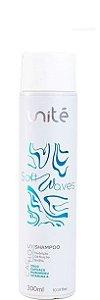 Unité Shampoo Nutritivo Para Cabelos Cacheados Soft Waves 300ml