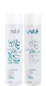Unité Kit Shampoo e Ativador Cachos Soft Waves 2x300ml