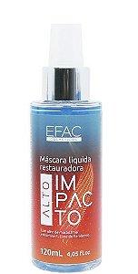 Efac Máscara Líquida Restauradora Alto Impacto Hidratante 120ml