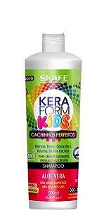 Skafe Keraform Kids Shampoo Cachinhos Perfeitos Cachos 500ml