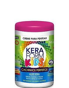 Skafe Keraform Kids Creme Para Pentear Cachinhos Perfeitos 1kg