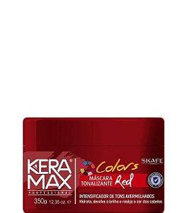 Skafe Keramax Colors Máscara Tonalizante Red 350g
