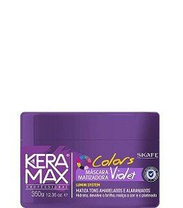 Skafe Keramax Colors Máscara Matizadora Violet 350g