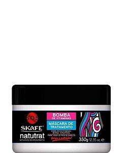 Skafe Natutrat Bomba de Vitaminas Máscara de Tratamento Crescimento 350g