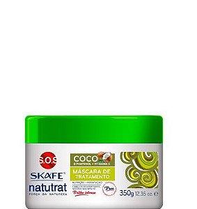 Skafe Natutrat SOS Força da Natureza Máscara de Tratamento Coco 350g