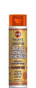 Skafe Natutrat SOS Shampoo Óleos Nativos Africanos 300ml
