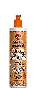Skafe Natutrat SOS Manutenção Intensiva Óleos Nativos Africanos 300ml