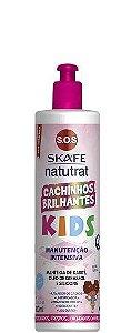 Skafe Natutrat SOS Kids Cachinhos Brilhantes Manutenção Intensiva 300ml