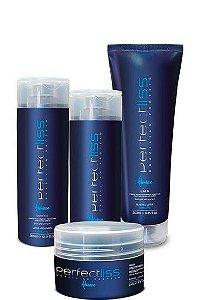 Perfect Liss Advance Kit Pós Química Home Care 4 Produtos