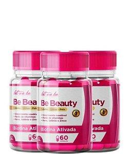 03 Let Me Be Be Beauty Crescimento Capilar 60 Capsulas 24g