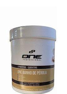 One Professional Máscara Banho de Pérola Hidratação Capilar 1kg