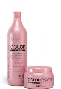 Forever Liss Kit Color Protector Shampoo 1L e Máscara 500g