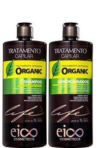 Eico Tratamento Capilar Intensivo Organic Sh e Condicionador 2x1L