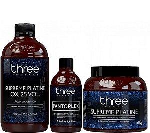 Three Therapy Descolorante - Pantoplex Plex + Ox 25 Volumes