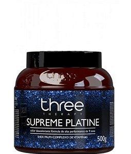 Three Therapy Pó Descolorante Supreme Platine 500g