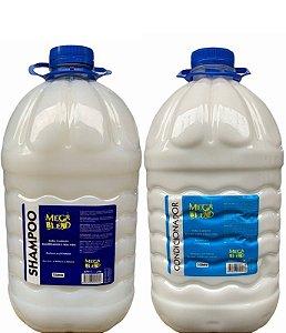 Mega Blend Shampoo e Condicionador de Lavatório 5 litros