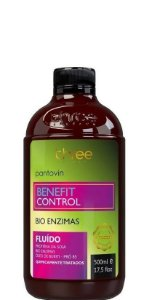 Three Therapy Pantovin Benefit Control Fluido Bio Enzimas 500ml